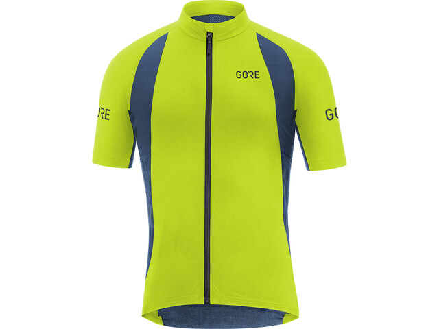 GORE WEAR C7 Pro Jersey Herre citrus green/deep water blue